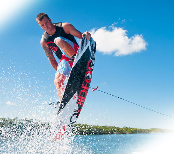 you can do wakeboarding